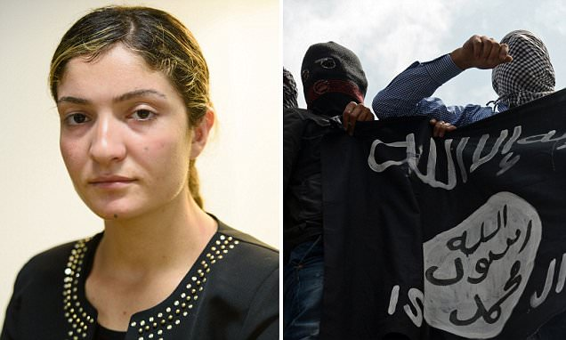 'Let me start a new life in Australia': Ex-ISIS sex slave, now 18, who gave birth to her rapist's child begs for a visa after escaping the Muslim terror group