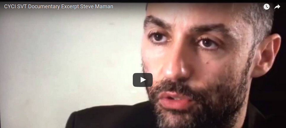 DOCUMENTARY:CYCI SVT Documentary Excerpt Steve Maman