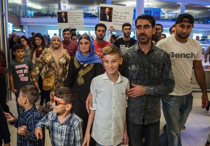 A Yazidi child thanks Canada for saving his life