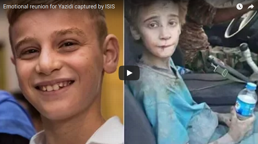 DOCUMENTARY: Yazidi Boy held captive by ISIS reunited with Mother in Winnipeg